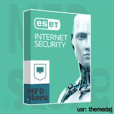 ESET INTERNET SECURITY 2020 ✅ 2 Years ✅ 1 PC License Key WORLDWIDE 🔥