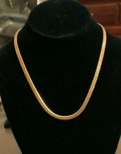 """Signed Vintage Monet Elegant Gold Chain 18"""" Perfect Condition"""