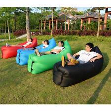 Inflatable Air Bed Sofa Camping Travel Holiday Beach Air Sleeping Bag
