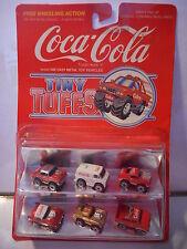 tiny tuffs  coca cola  mib ( micro machine) corvette mustang chevy