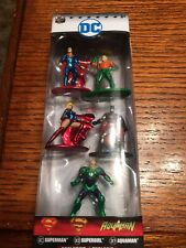Jada Nano Metalfigs DC COMICS Pack B, 5 Figure Exclusive Set, New