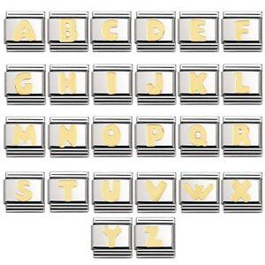 Nomination Classic Italian Charm 18k 9mm Letter Alphabet £28 A-Z Your Choice
