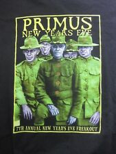 PRIMUS new years eve FREAKOUT 1998-1999 - XL black T-shirt
