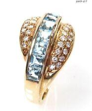 Diamant Echtschmuck aus Gelbgold mit Prinzess-Schliffform