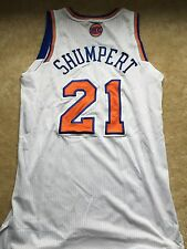 Iman Shumpert Game Used Opening Night Jersey and Shorts, Knicks Cavs