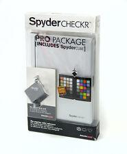 Datacolor Spydercheckr Pro + Spydercube Color Chart ColorChecker