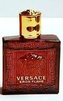 Versace Eros Flame For Men Mini Cologne Eau De Parfum 5 ml / .17 oz Miniature