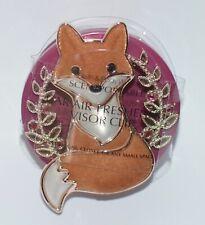 BATH & BODY WORKS FALL ORANGE FOX SCENTPORTABLE HOLDER VISOR CLIP CAR FRESHENER