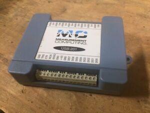 USB-201 DAQ device with 8 SE analog inputs, 12-bit resolution, 100 KS