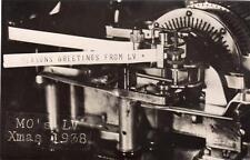 Mo's LV Xmas 1938 Liverpool Victoria Birmingham ? unused  RP old pc