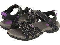 Teva Women's Tirra Vegan Strappy Sandals - Black/Grey