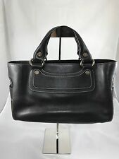 Celine Boogie Bag in Dark Brown Leather