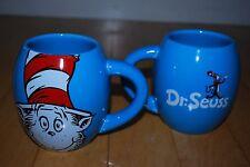 CAT IN THE HAT Blue Mug Dr. Seuss  Vandor Coffee Cup!   Nice! Set of 2