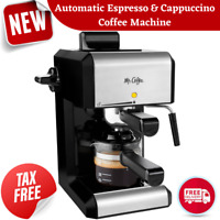 20 Oz Bar Steam Espresso Latte Cappuccino Coffee Maker with Milk Frother Machine
