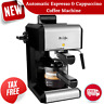 20 Oz Bar Steam Espresso Latte Cappuccino Coffee Maker with Milk Frother Machine