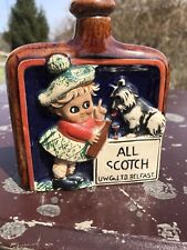 Scottish Girl Puppy All Scottish Hip Flask Nip Color Unknown Maker