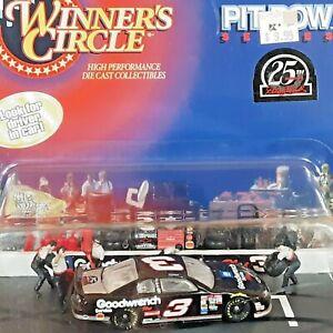 Dale Earnhardt #3 NASCAR 1998 Winners Circle 1:64 Diecast Stock car Pit Row