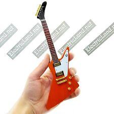 Mini Guitar scale 1:4 THE EDGE U2 explorer miniature rock gadget collectible fan