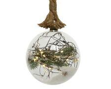 Christmas LED Decoration Snow Ball Light Up Decorative Balloons Tree Rope