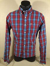 HOLLISTER CALIFORNIA mens PACIFIC MERCHANTS 100% Cotton Button Down Shirt sz S