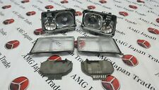 MERCEDES W124 HEADLIGHTS ORIGINAL BOSCH FULL SET 1248208859 1248208759