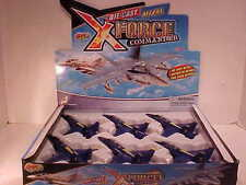 6 Pack of Blue Angels F-18 Super Hornet Jet 1:72 Diecast 9 Inch US Navy Marines