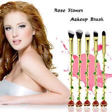 5Pcs Make-up Pinsel Set Schönheit und die Biest Rose Pinsel Magic Cosmetics Tool