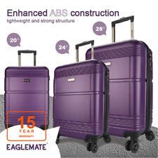 3pc Luggage Set Suitcase Travel Carry On Hard Case Soft Lightweight Luggage Set