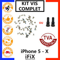 PENTALOBE TORX KIT VIS COMPLET IPHONE 5 / 5C / 5S /SE / 6 / 6S / 7 / 8 / X /PLUS