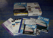 Just Flight 777-200 Professional-Add On for MS FLIGHT SIM 2000 DA COLLEZIONE BIG BOX