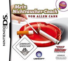 NEU NDS Nintendo DS Allen Carr Stop Smoking Nichtraucher Coach Rauchen aufhören