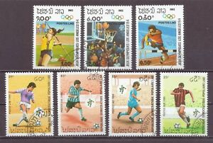 Laos, Sports, Olympics & Soccer, 1983, 1990, Cancelled to Order