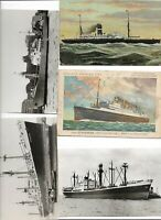 Huge Lot Ships Boats Nautica Holland America Line and More 120 Postcards  01.16