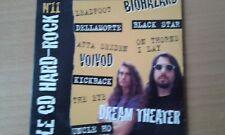dream theatre promo 4 cds promo/ iron maiden/motorhead