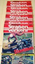 """7 DDR Magazine """"DER DEUTSCHE STRAßENVERKEHR""""  von 1986 bis 1987"""