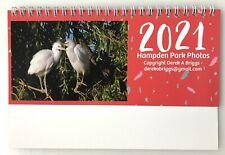 Desk Calendar 2021 - Wildlife Photography by Derek A Briggs