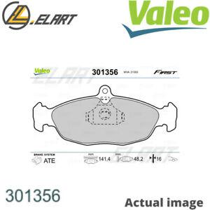 DISC BRAKE PADS SET  FOR OPEL DAEWOO VAUXHALL CHEVROLET 10 S 12 ST VALEO