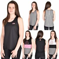 Womens Sports Vest Sleeveless Gym Yoga Keep Fit Fitness Summer Activewear Top