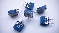 25pcs 10k 10% Logarithmic (Log B) Trimmer Pots ACP CA9 Carbon potentiometer