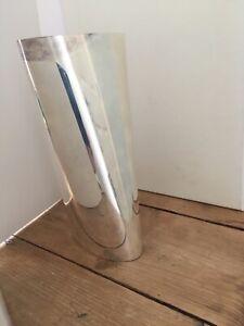 Georg Jensen Verner Panton sterling silver vase 7529625