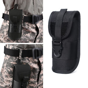 Tactical Hard Glasses Cover Case Sunglass Holder Holster Pouch Molle Hiking Bags