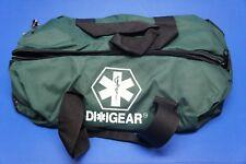 Diligear Oxygen Bag Green Clamshell Zipper 22 in x 10 in x 10 in