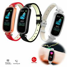 Sports Fitness Tracker Heart Rate Monitoring Smart Watches for Women Girls Gift