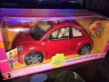 Barbie Volkswagen New Beetle Vehicle 2000 (Mattel #28262) Brand New!!! Vintage