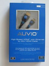 AUVIO  High-Speed HDMI with Ethernet to Mini HDMI Cable 6-ft 1500013