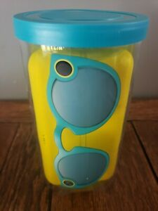 Snapchat Spectacles Smart Video Clip Glasses V1 -Teal New