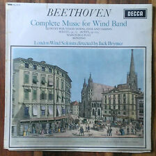 Decca SXL 6170, WBG ED1, Beethoven - Complete Music For Wind Band, Jack Brymer