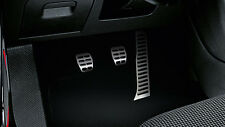 GENUINE VW GOLF BEETLE EOS CC PASSAT JETTA LHD SPORTS MANUAL PEDAL COVERS SET