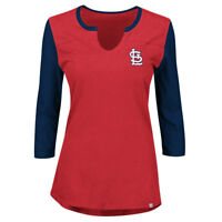 St. Louis Cardinals Womens Majestic Above Average Tee - NWT! FREE SHIPPING!