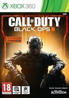 CALL OF DUTY BLACK OPS III JEU XBOX 360 NEUF